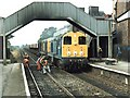 SK5336 : Railway Station, Beeston by Dave Hitchborne