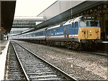 SX9193 : Railway Station, Exeter by Dave Hitchborne