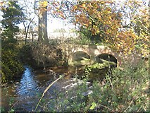 SK2139 : Shirley Brook near Hollington, Derbyshire by Eamon Curry
