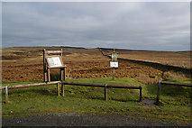SD7148 : Access land notices on Waddington Fell by Bill Boaden