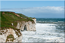 TA2372 : Rough sea at North Landing by Dave Green