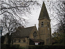 TQ2740 : St Michael and All Angels Church, Lowfield Heath, West Sussex by Richard Rogerson
