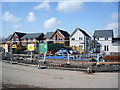 NY3868 : New houses, Sutton Court, Longtown by Alexander P Kapp