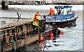J3474 : Dredging the River Lagan, Belfast -  2010/11 (69) by Albert Bridge