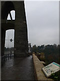 ST5673 : The eastern tower of the Clifton Suspension Bridge by Eirian Evans