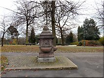 SJ9495 : Abstainers' Fountain by Gerald England