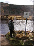 NM8363 : Ford for Horses, Strontian River by Peter Bond