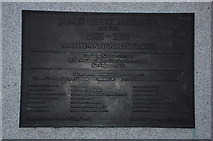 NT2574 : Plaque to James Clerk Maxwell by Jim Barton