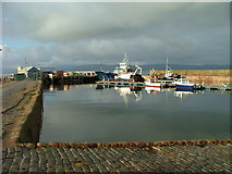 NH7867 : Cromarty Harbour by Dave Fergusson