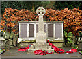 SJ8662 : War Memorial by Jonathan Kington