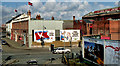 J3474 : Kelly's coal office and yard, Belfast by Albert Bridge