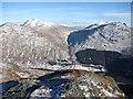 NN2204 : North ridge, Ben Donich by Richard Webb