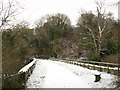 SO2613 : Viaduct on the former railway near Govilon by Gareth James
