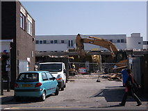 SP2871 : Demolition of north side of Talisman Square by John Brightley