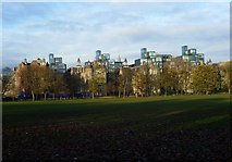 NT2572 : Quartermile Development from the Meadows by kim traynor