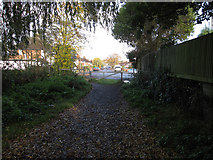 TQ1562 : Restricted byway to Claygate by Hugh Venables