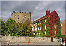 NZ2742 : Castle, Durham by Dylan Moore