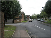 TM3877 : Approaching the junction of Lansbury Road and Pound Close by Basher Eyre