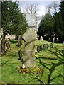 NY3561 : The Parish Church of St Mary the Virgin, Rockcliffe and Cargo, Stone cross by Alexander P Kapp
