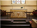 NY3561 : The Parish Church of St Mary the Virgin, Rockcliffe and Cargo, Altar by Alexander P Kapp