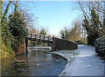 SO8171 : Mitton Chapel Bridge No. 7 (1), Staffordshire & Worcestershire Canal by P L Chadwick