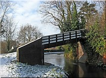SO8171 : Mitton Chapel Bridge No. 7 (4), Staffordshire & Worcestershire Canal by P L Chadwick