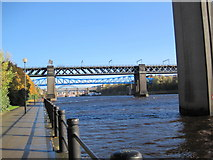 NZ2463 : View of the River Tyne and some of its many Bridges by Les Hull