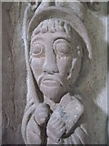 SO4430 : Carving in Kilpeck church by Philip Halling