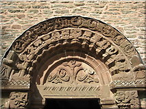 SO4430 : Tympanum and arch, Kilpeck by Philip Halling
