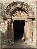 SO4430 : Doorway to Kilpeck church by Philip Halling