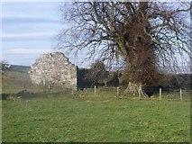 NS7691 : Castlehill ruins by Robert Murray