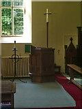 SD3484 : St Anne's Church, Haverthwaite, Pulpit by Alexander P Kapp