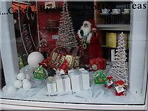 SP2871 : Christmas themed window display at Talisman by John Brightley