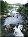 SD3584 : River Leven at the Whitewater Hotel by Alexander P Kapp