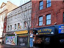 "J3374 : The ""Royal Exchange"" site, North Street, Belfast (1) by Albert Bridge"