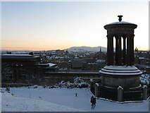 NT2674 : Dugald Stewart's Monument on Calton Hill by M J Richardson