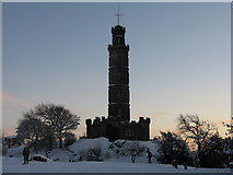 NT2674 : Nelson's Monument on Calton Hill by M J Richardson