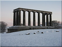 NT2674 : The National Monument on Calton Hill by M J Richardson