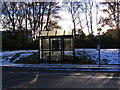 TM2042 : Murrills Road Bus Shelter by Adrian Cable