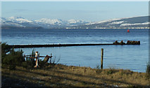 NS3174 : Firth of Clyde at Port Glasgow by Thomas Nugent