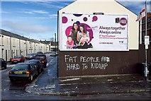 J3472 : Agra Street, Belfast by Rossographer