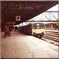 SK5739 : A Class 150 DMU terminates at Nottingham Railway Station by nick macneill