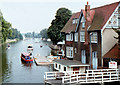 SP5105 : Looking SE along the Thames at Folly Bridge by Nick Smith