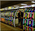NS5965 : Rabbie Burns themed subway train by Thomas Nugent