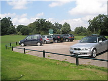 TM2750 : Car park at Melton Playing Field by Basher Eyre