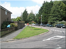 TM2850 : Junction of Dock Lane and  River View by Basher Eyre