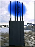 NZ4057 : 'Light Transformer', National Glass Centre by Andrew Curtis