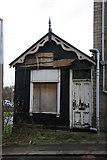 SE1115 : Derelict shop, Milnsbridge by Chris Allen