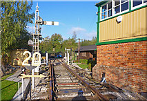 SU3521 : Track at Romsey Signal Box by Mike Smith