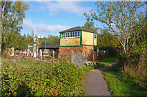 SU3521 : Romsey Signal Box by Mike Smith
